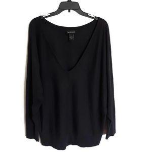 Lane Bryant cotton poly long sleeve sweater 14/16